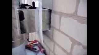 видео монтажа дымоходов