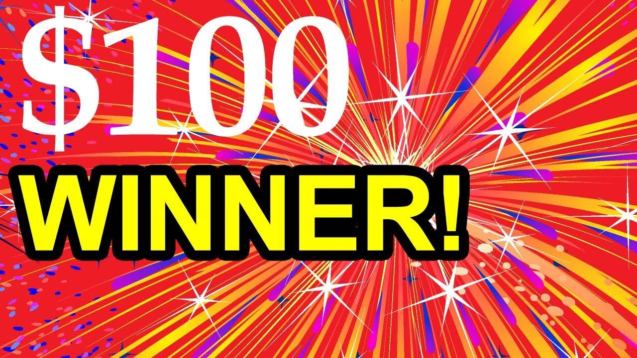 Amazon 100 Gift Card Winner Youtube