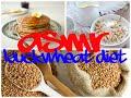 ASMR Buckwheat diet