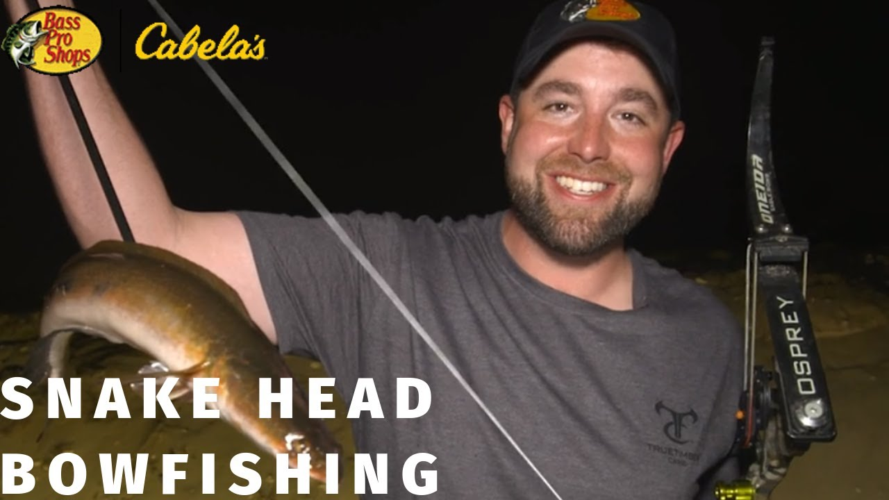 John Paul Morris Bowfishing the channels of Florida for Invasive Snakehead Fish Species