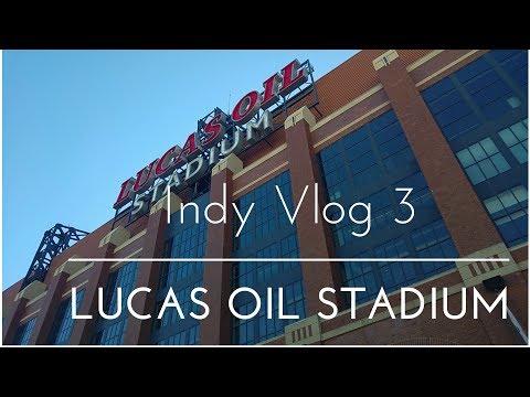 Indianapolis VLOG 3 - Lucas Oil Stadium