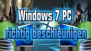 Windows 7 beschleunigen 2014 + Desktop aufräumen (Tutorial) #GERMAN# (HD 720p)