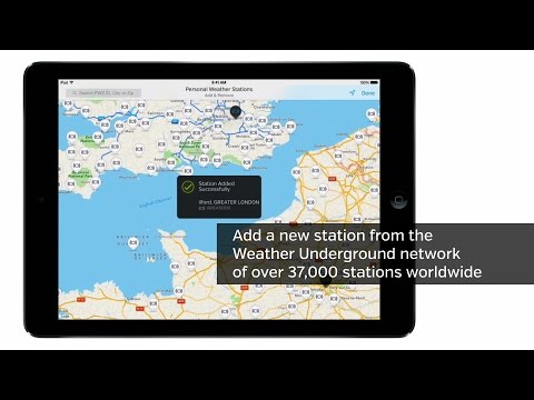 WunderStation from Weather Underground