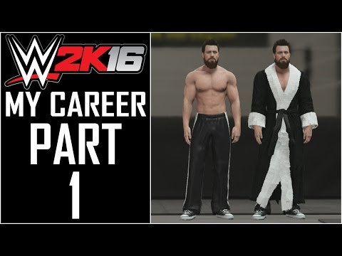 """WWE 2K16 - My Career - Let's Play - Part 1 - """"Character Creation"""""""