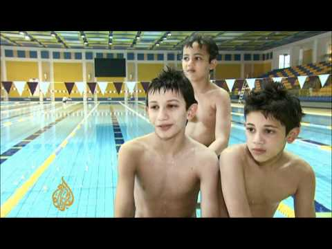 Small Swimmers' Big Ambitions