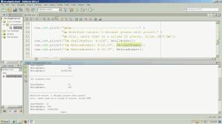 Notation, Precision and Formatting with printf() in Java - Part 2