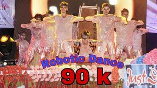 Robotic dance video |just dance championship |choreographer:-Raushan sharma |mix robotic dance |feel