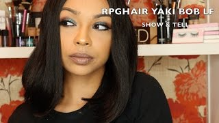 rpghair.com $84 Indian Remy LF Bob Wig Review