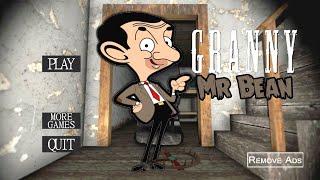 Granny is Mr Bean!