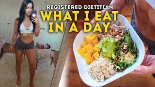 Registered Dietitian What I Eat In A Day