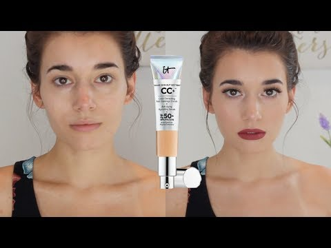 First Impression & Review | IT Cosmetics CC Cream