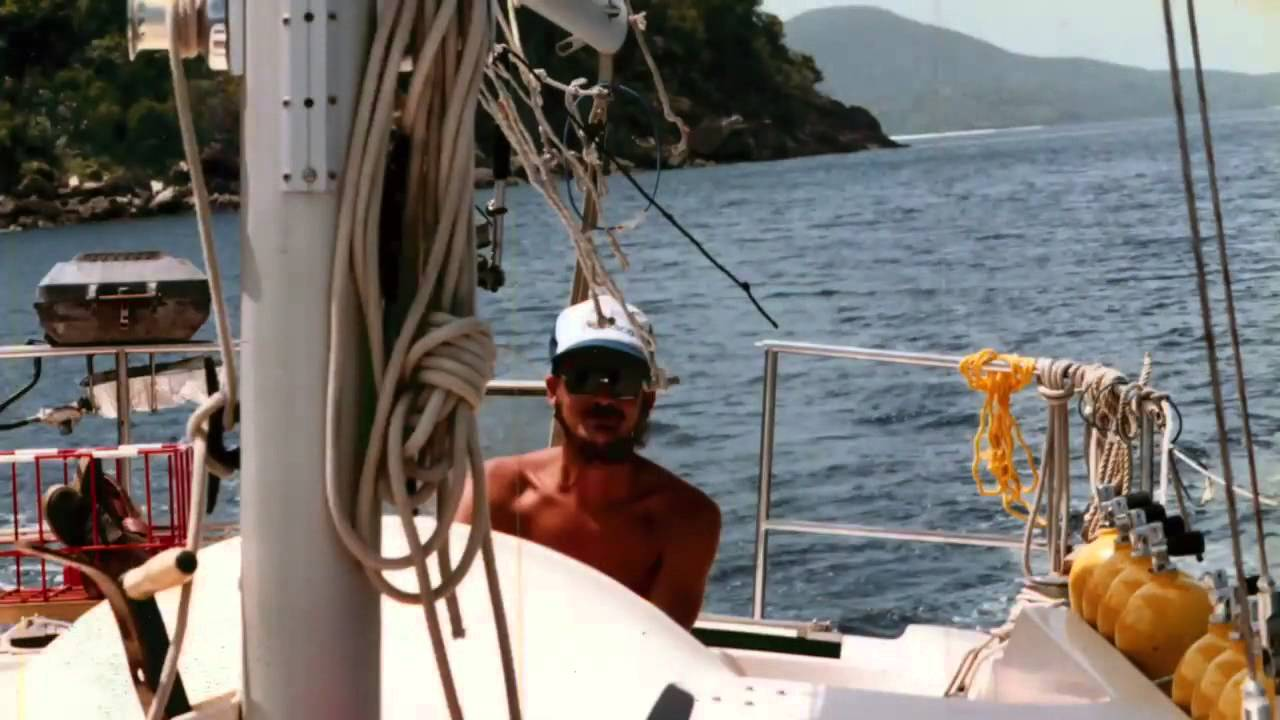 Jamie Hyneman On His Time Sailing In The Caribbean P1 Youtube