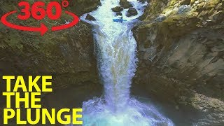 Drop from a 70-foot waterfall with extreme kayakers in VR thumbnail