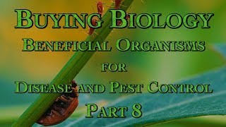 Buying Biology: Beneficial Organisms for Disease and Pest Control Part 8
