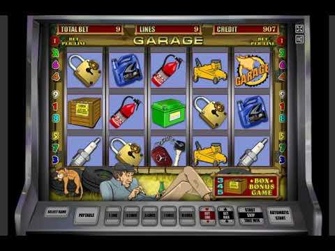 Игровой автомат GARAGE играть бесплатно и без регистрации онлайн