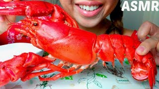 *No Talking* ASMR MAINE LOBSTER 🦐 🌊+ Garlic Aïoli Mayonnaise 먹방 Eating Sounds