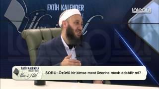 İLM-İ HÂL Bir Soru Bir Cevap (Özürlü Biri Mest Üzerine Mesh Edebilir mi) 2017 Video