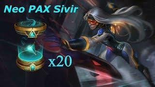 Mở 20 hộp Sử Thi tìm Neo PAX Sivir và cái kết max giàu !!