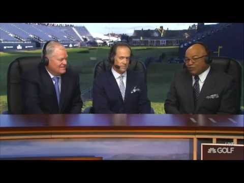 Mike Tirico makes his NBC Sports debut at the 2016 British Open