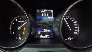 Subaru Outback O6 - веселая отсечка. Разгон 0 -100