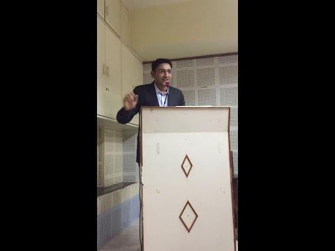 Dr.Dipen Patel Seminar At Ahmedabad Medical Association.