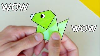Perro de Papel que LADRA! - Origami