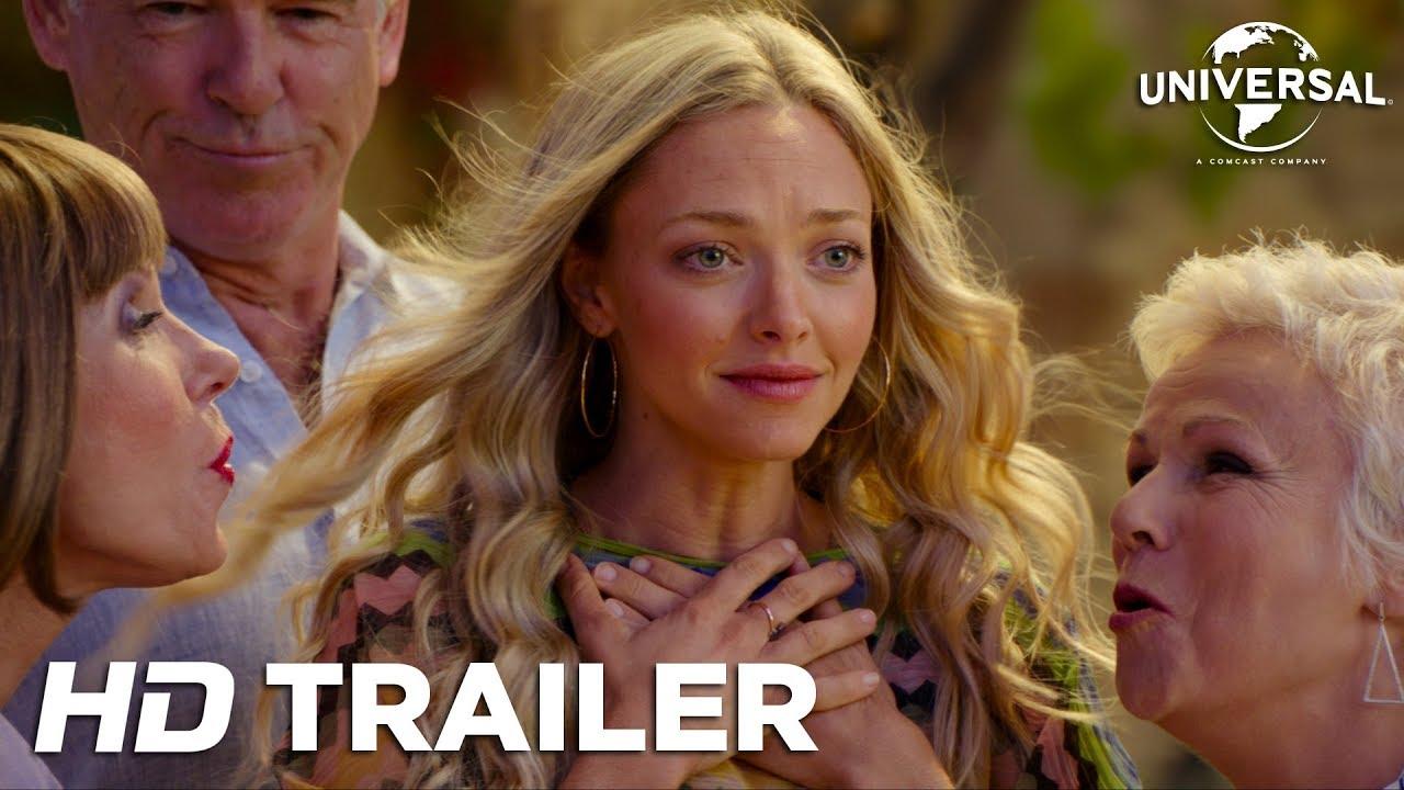 Mamma Mia! Here We Go Again - I biografen 19. juli (dansk trailer 2)