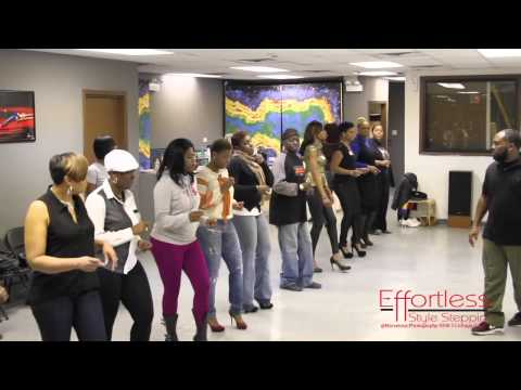 Let Us Show You How .... Chicago Style Stepping ... Effortless Steps