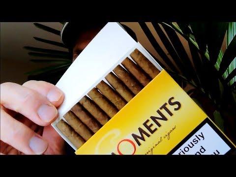 Moments Cigar Review Original Blue Premium Nicotina Fag