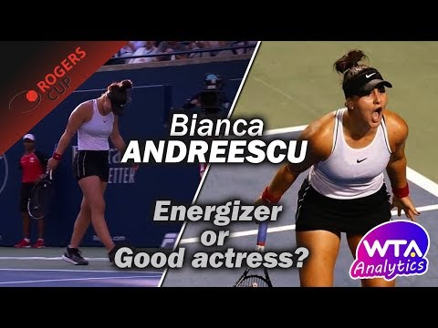 Bianca ANDREESCU: Energizer Or Good Actress? | 2019 Rogers Cup
