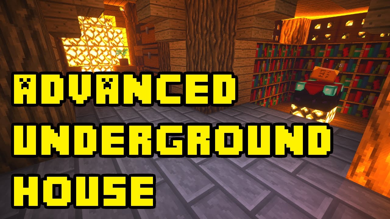 Minecraft Advanced Underground House Base Tutorial Xbox