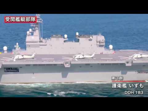 JMSDF   Japan Naval Parade 2015 1080p