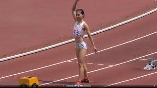 奥村ユリ 20170616 関東高校陸上北関東 女子400m決勝 奥村ユリ 検索動画 18