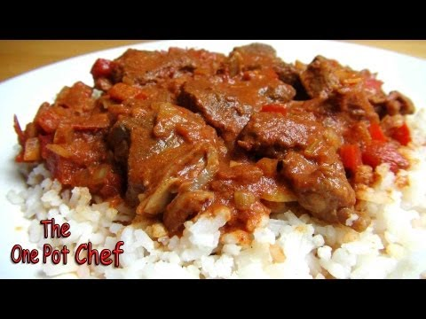 Slow Cooked Beef Goulash | One Pot Chef
