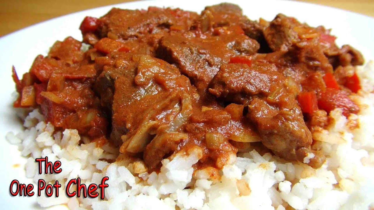 Slow Cooked Beef Goulash - RECIPE