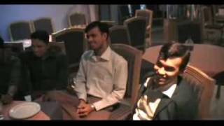 Bangla song...Himaloy...singer: Noman, chittagong...At office party..hotel Land Mark