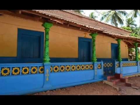 photessay  colorful houses of goa