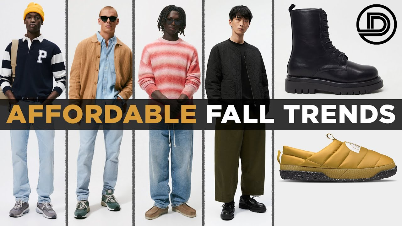 Download Top 10 AFFORDABLE Fall Trends 2021 (men's outfits)