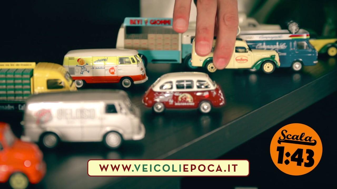 Die cast 1//43 Modellino Furgone Van Fiat 1100 ELR Galbani 1951