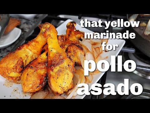 That Mexican Meat Market YELLOW MARINADE | POLLO ASADO