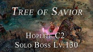 Tree of Savior: Hoplite C2 Solo Boss Ironbaum (Lv.130)