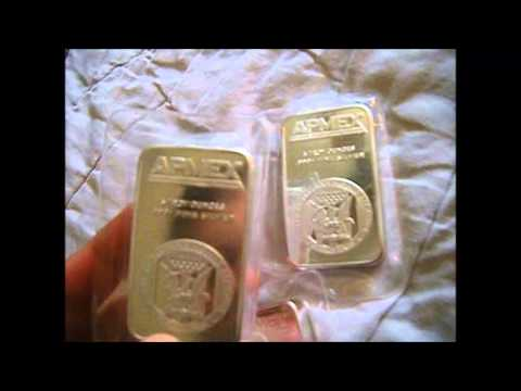Apmex 5OZ Silver Bars -.999 Silver