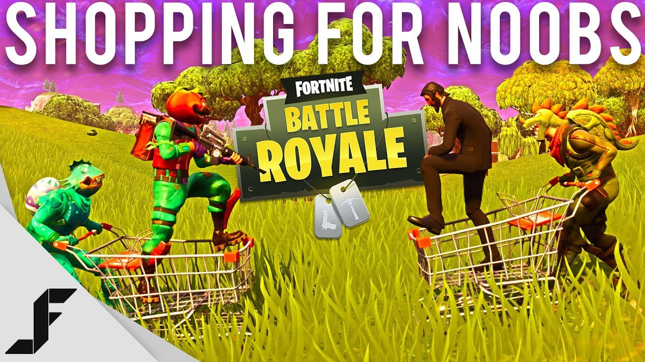 Shopping for Noobs in Fortnite