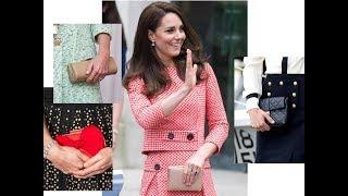 Королевский дресс-код: любимые сумки герцогини Кембриджской