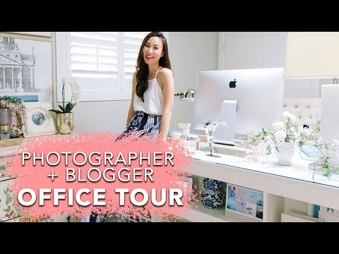 Blogger + Photographer Home Office Reveal (The Fourth Redo!) Diana Elizabeth