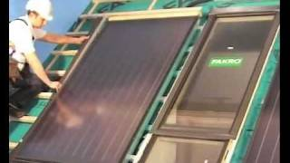 монтаж солнечной батареи FAKRO SKW(, 2011-11-17T06:28:54.000Z)