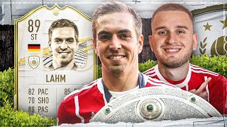 FIFA 21: ICON LAHM 89 STÜRMER SQUAD BUILDER BATTLE 😱🔥