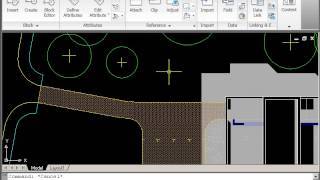 Autocad 2d Drawing Course B - Site Plan - Part 6 - Soft Landscape 1 - Trees