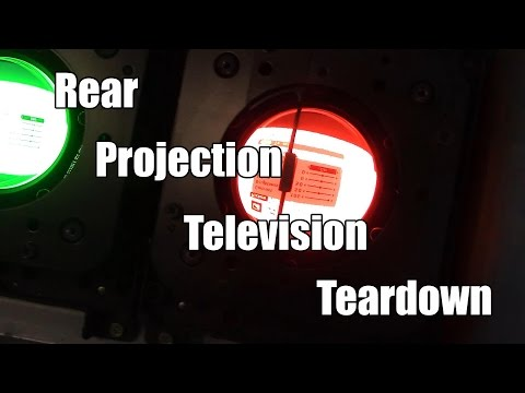 Toshiba Rear Projection TV Teardown
