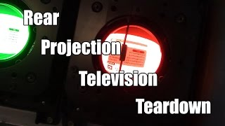 Toshiba Rear Projection TV Teardown